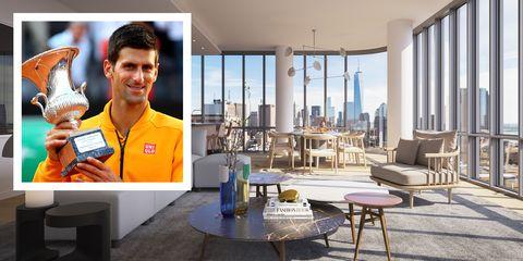 Novak Djokovic New York City Apartment