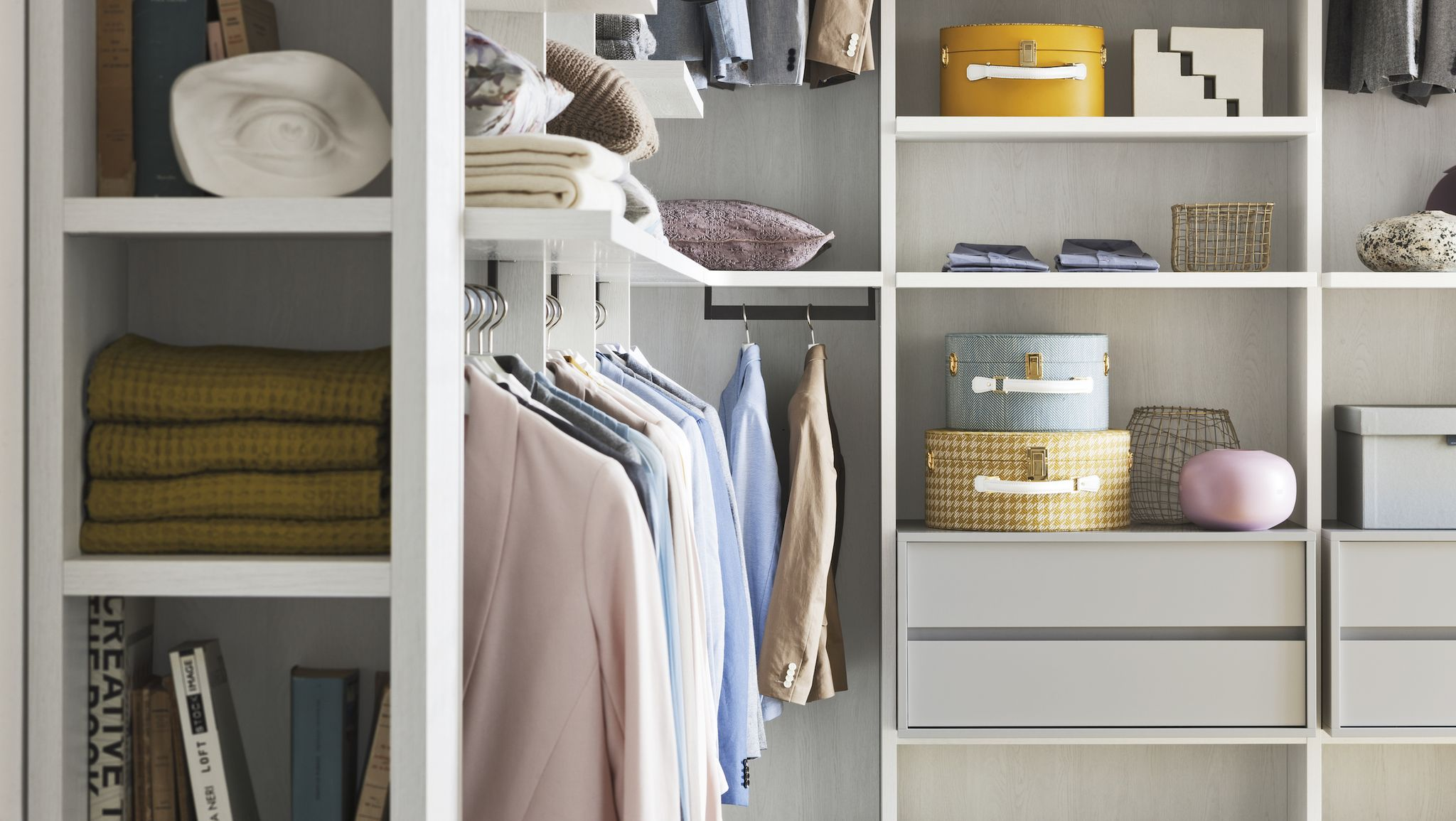 9 walk-in wardrobe ideas to help you create your dream closet