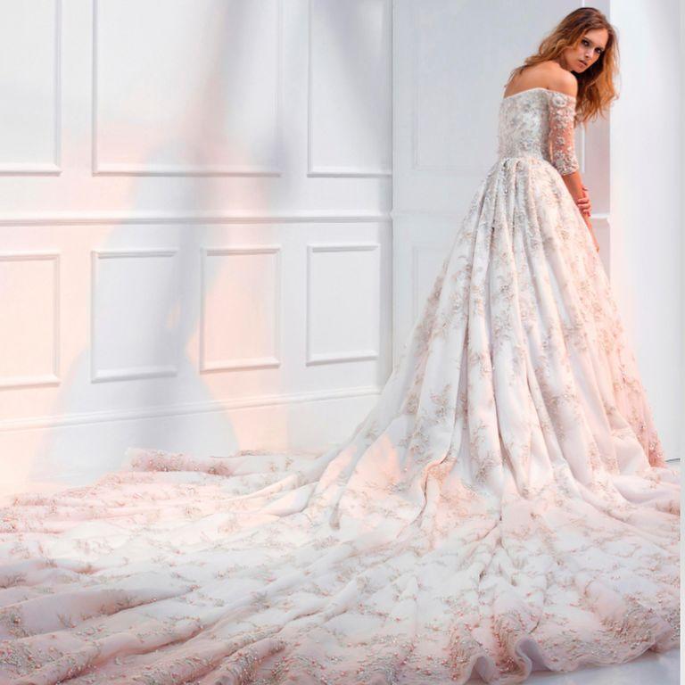 El vestido de novia de Meghan Markle, de Ralph & Russo - Ralph ...