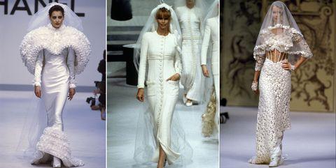 c96709f143 Los vestidos de novia de Chanel a través de la historia