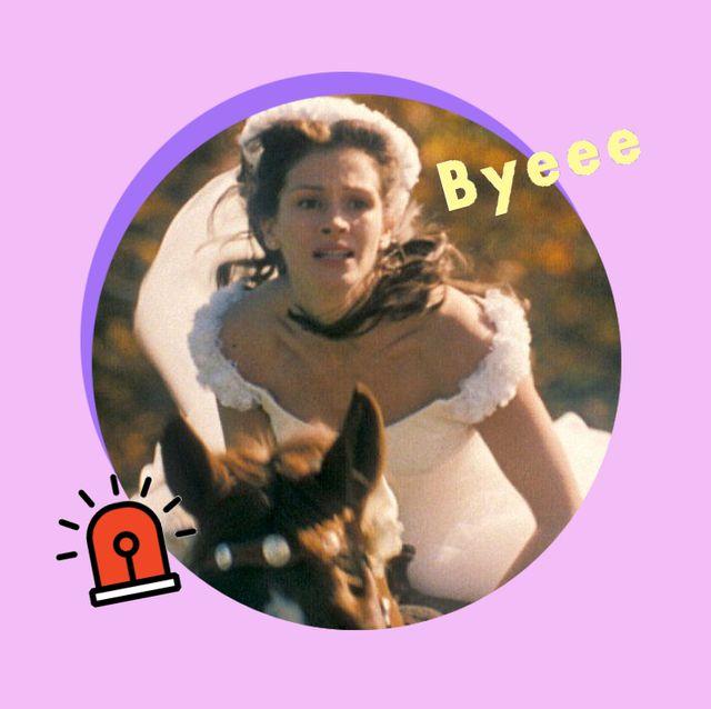 julia roberts en 'novia a la fuga', 1999