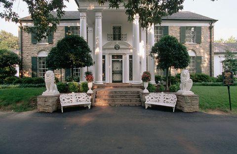 exterior view of graceland