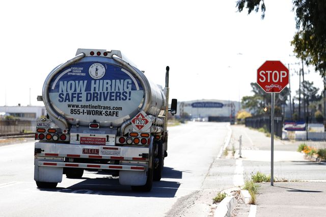 lack of truck drivers may lead to summer gas shortage