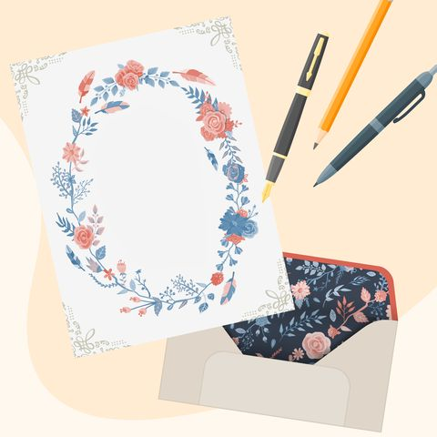 letter writing snail mail