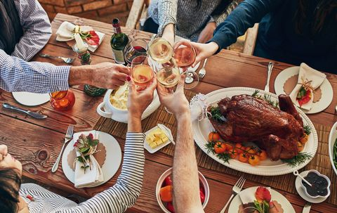 Now this is our kind of Thanksgiving meal