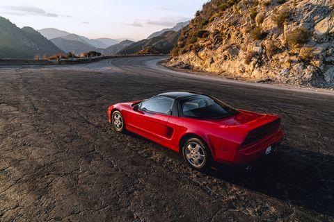 Land vehicle, Vehicle, Car, Red, Sports car, Coupé, Automotive design, Performance car, Supercar, Automotive exterior,