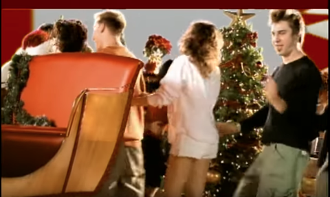 Nsync Merry Christmas.Nsync S Merry Christmas Happy Holidays Music Video