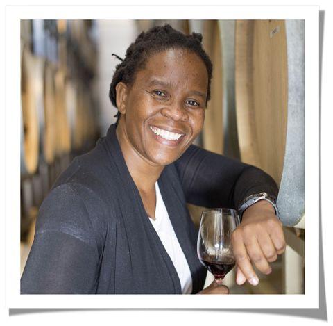 ntsiki biyela winemaker and owner, aslina wine company
