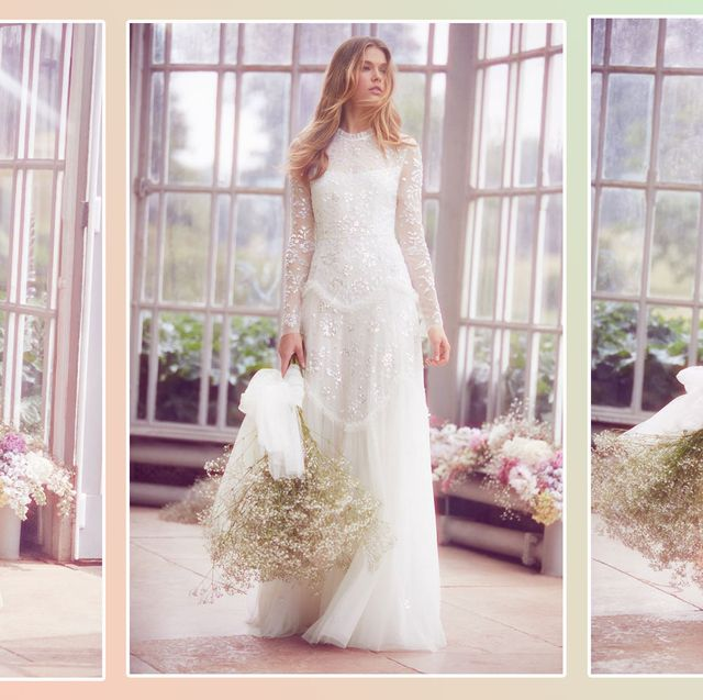 aa48572da6 18 high street wedding dresses you ll love - high street brands that ...