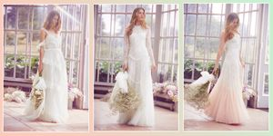 high street wedding dresses, needle & thread