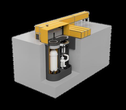illustration of ultra safe nuclear's mmr reactor