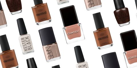 32 Nude Nail Polish Colors