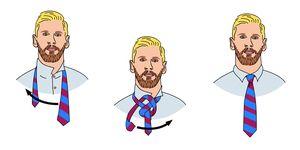 Cómo hacer el nudo de corbata Half Windsor