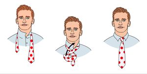 Como hacer el nudo doble de corbata según Griezmann