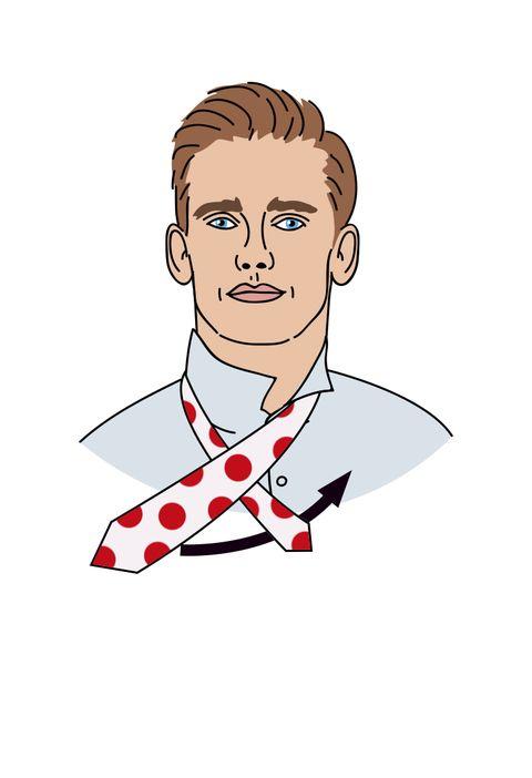 Cómo hacer el nudo doble de corbata según Antoine Griezmann