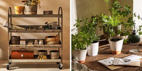 colección de jardinería de zara home
