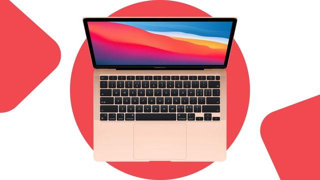 imagen de un portátil macbook air de noviembre de 2020 de apple