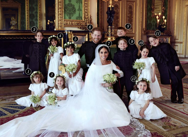Who S In The Official Royal Wedding Portraits Meghan Markle Bridesmaids And Page Boys Portrait