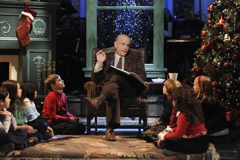 Christmas, Lighting, Event, Christmas eve, Human, Tree, Christmas tree, Performance, Sitting, Adaptation,