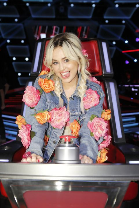 Miley Cyrus On The Voice Week 1 Recap Review
