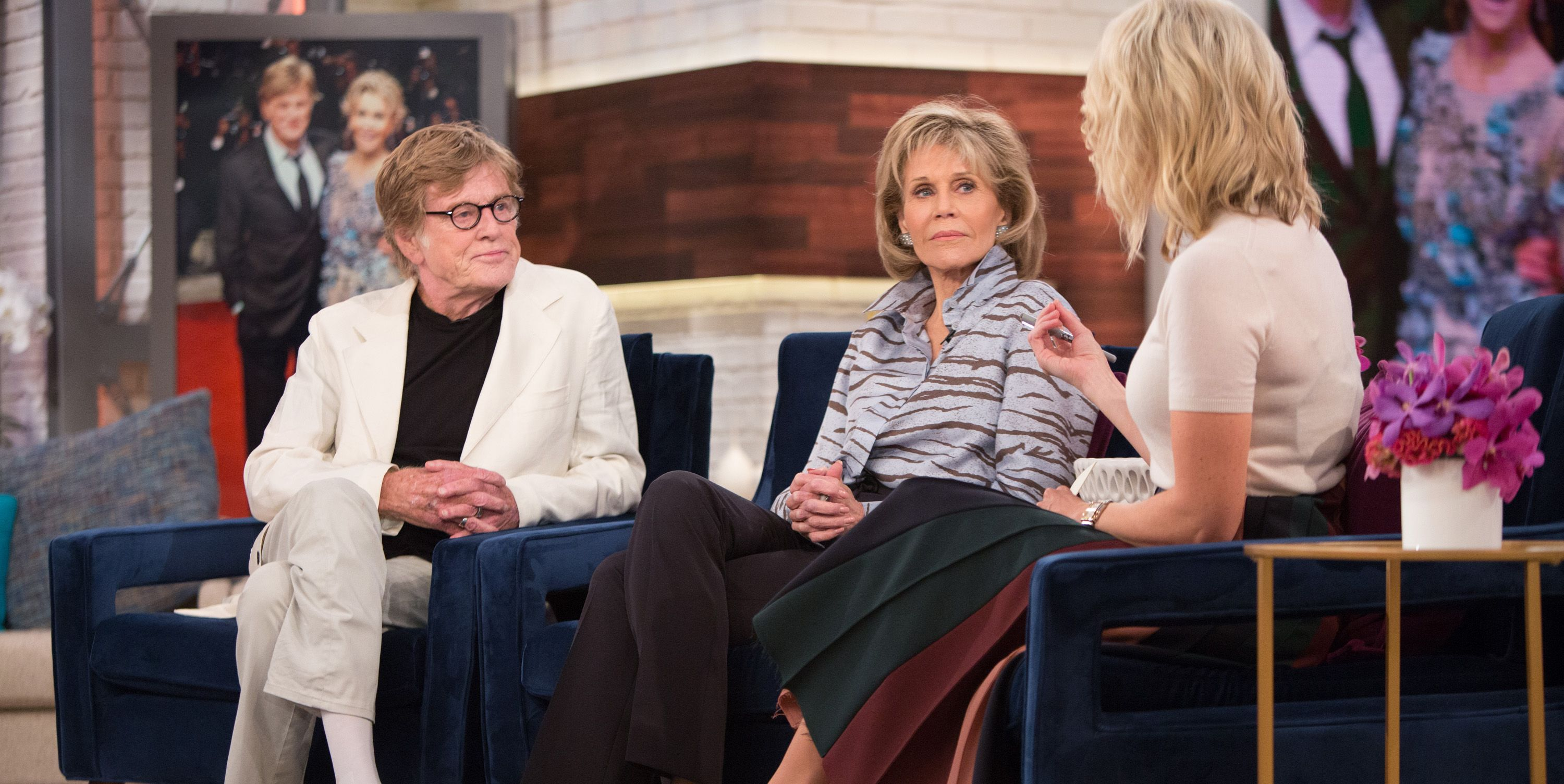Robert Redford, Jane Fonda, Megyn Kelly