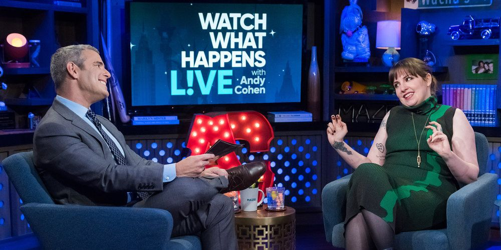 Lena Dunham's Read-Filled WWHL Appearance Is a Balm to My Petty Soul