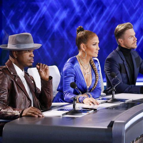 World of Dance Judges Jennifer Lopez And Derek Hough