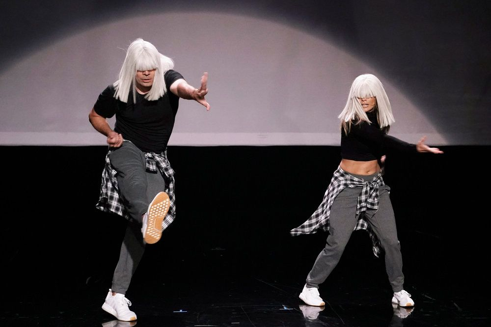 Please Enjoy This Video of Jennifer Lopez and Jimmy Fallon Performing Iconic Music Video Dances