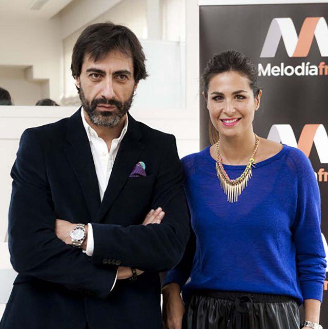 Nuria Roca felicita a Juan del Val con una fotografía muy íntima