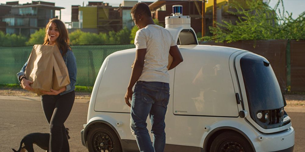Nuro has received a green light from the California DMV to test its autonomous delivery robots in the Bay Area