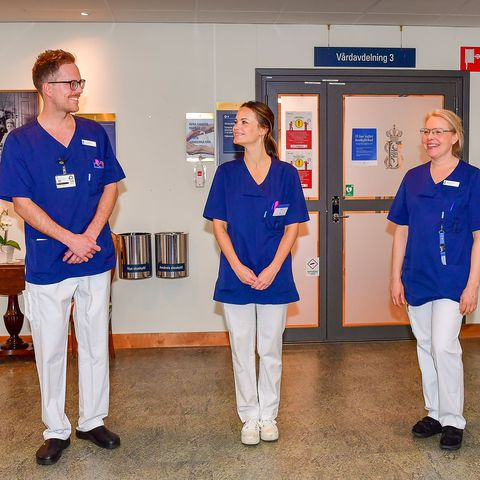 SWEDEN-HEALTH-VIRUS-ROYALS