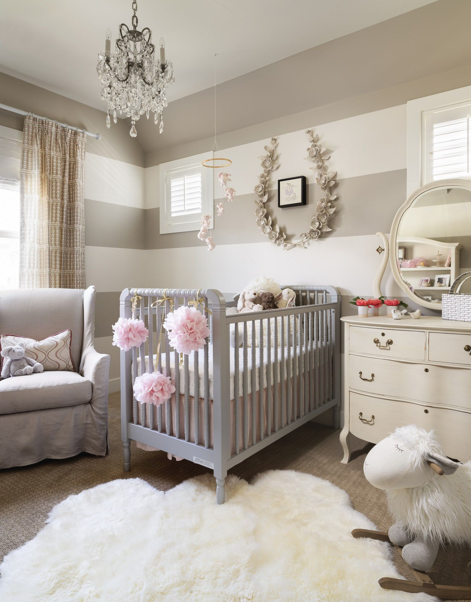 chic baby room design ideas how to decorate a nursery rh elledecor com baby room designs boy baby room design online