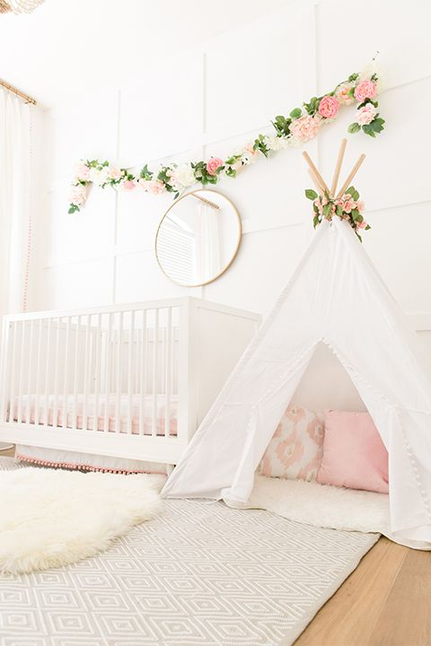 The Posh Home Girl Nursery Teepee