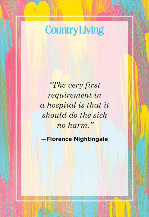 Nursing quote by Florence Nightingale