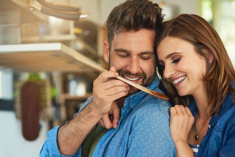 Nurturing their marriage with tasty and nutritious food