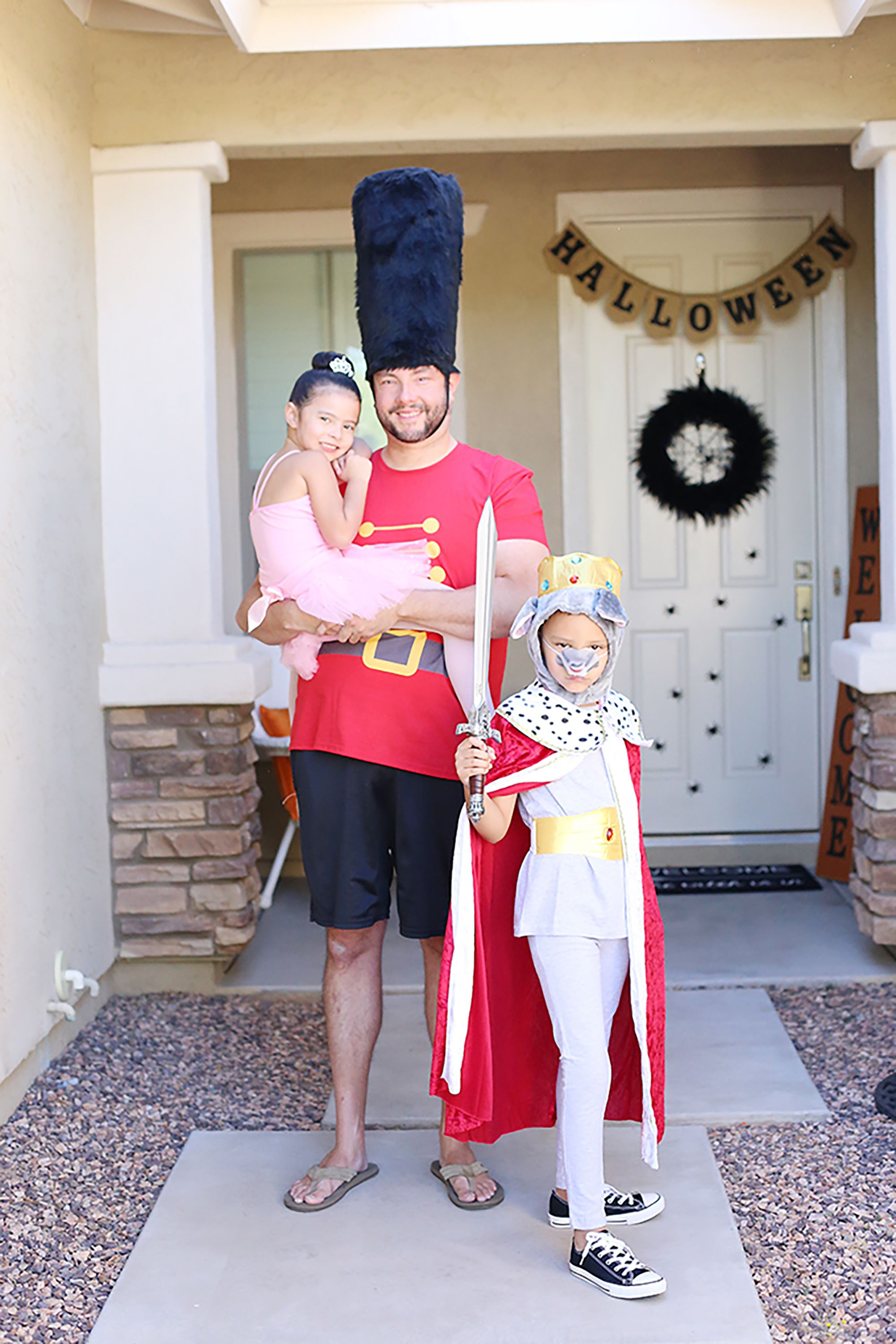 Nutcracker Performers Family Halloween Costumes