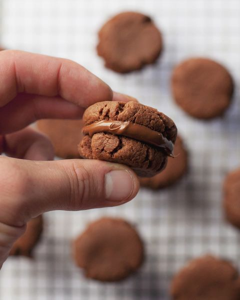 best biscuit and cookie recipes nutella sandwich cookies