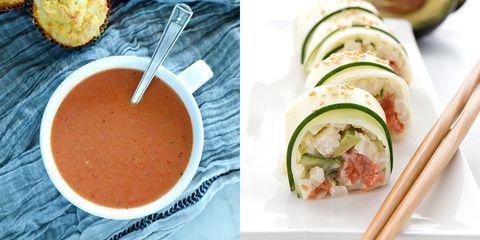 Dish, Food, Cuisine, Ingredient, Zucchini, Gazpacho, Produce, Comfort food, Recipe, Cucumber,