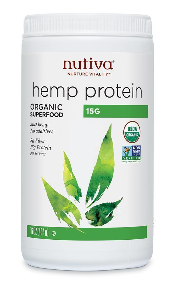 nutivia hemp protein powder organic vegan protein powder