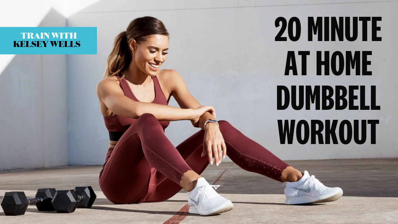 A 20-Minute Dumbbell Workout for Home or Gym - FULL BODY