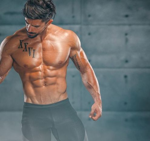 nutritional supplement muscular men drinks protein, energy drink after workout