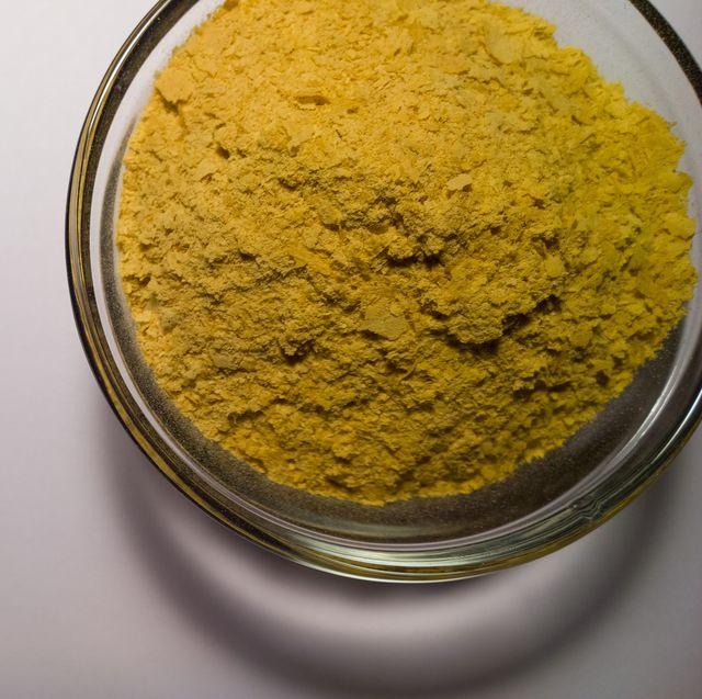 nutritional yeast in prep bowl