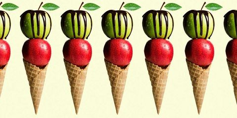 Always Pair Your Ice Cream With An Apple If You Want To Lose Weight