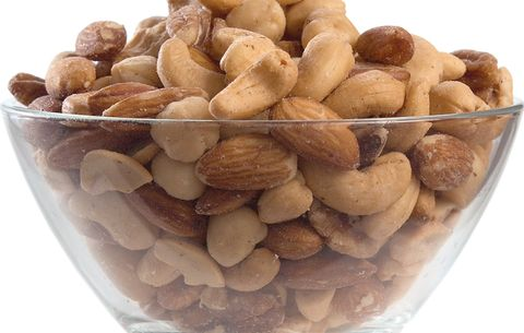 Nuts in bowl