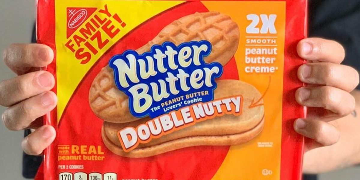 Nutter Butter Just Released Cookies With Twice The Amount