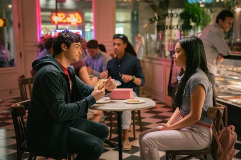 to all the boys ive loved before 3 noah centineo as peter kavinsky, lana condor as lara jean covey, in to all the boys ive loved before 3 cr sarah shatz netflix © 2020