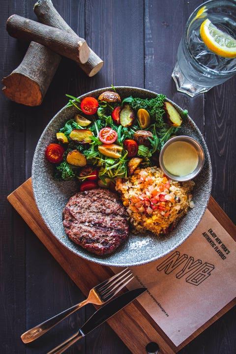 hamburguesas veggies
