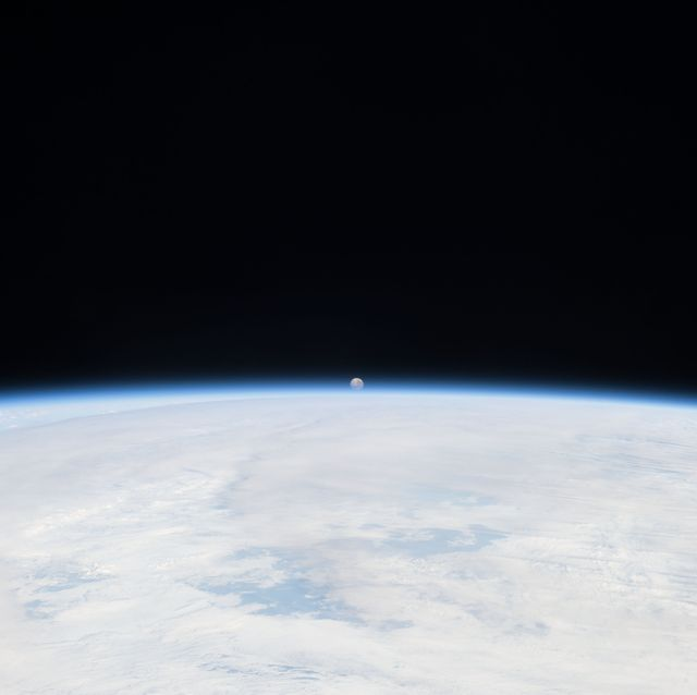 Atmosphere, Outer space, Earth, Astronomical object, Space, Sky, Planet, Horizon, Astronomy, Science,