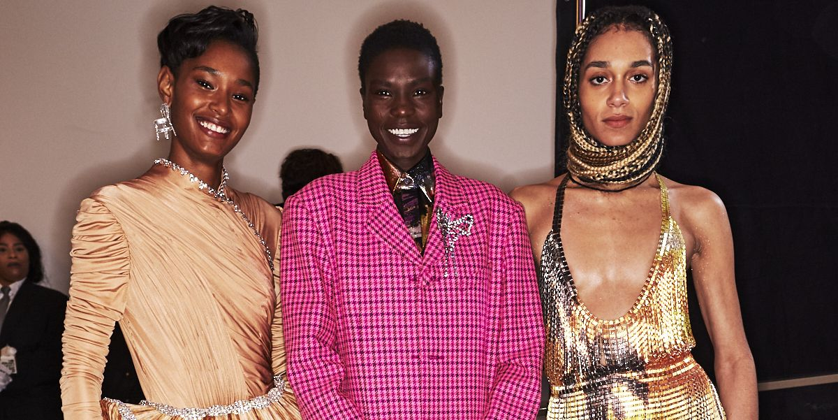 Exclusive Backstage Photos from Area Fall/Winter 2020
