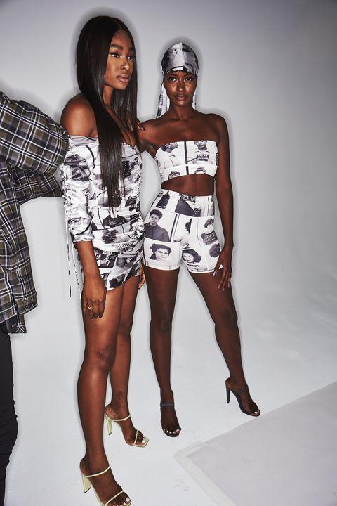 White, Clothing, Fashion model, Fashion, Beauty, Leg, Model, Thigh, Fashion design, Human leg,